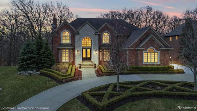 1855 Lincolnshire Drive, Rochester Hills, MI 48309 (#2200020098) :: Alan Brown Group