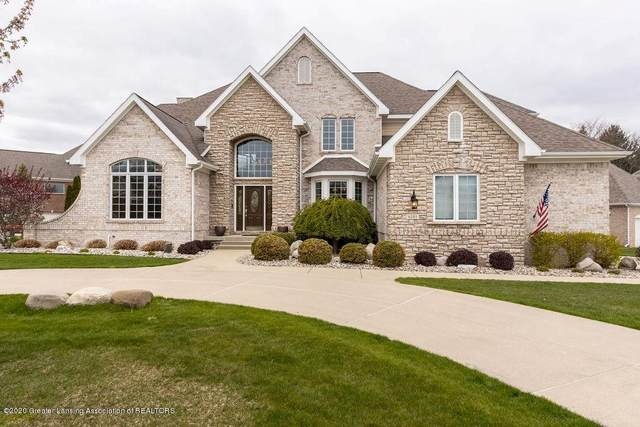6181 Whitehills Lake Drive, Meridian Charter Twp, MI 48823 (#630000245141) :: Keller Williams West Bloomfield