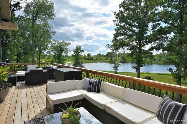 4610 Bunnel Lake Drive, Hadley Twp, MI 48438 (#2200048106) :: Alan Brown Group