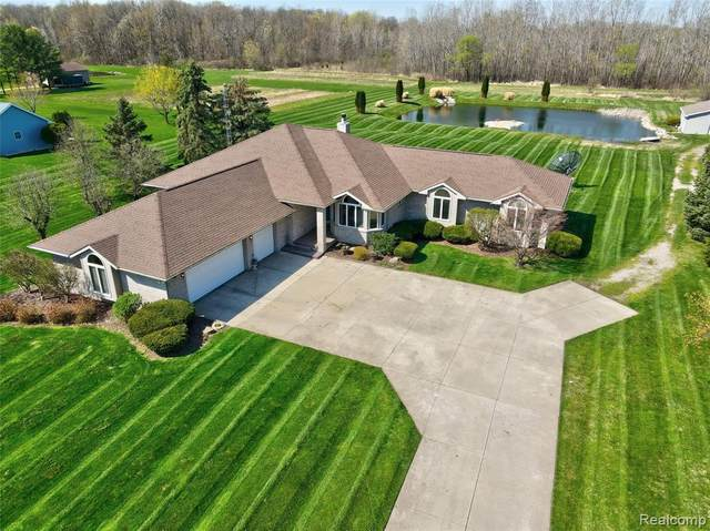 2092 S Seymour Road, Clayton Twp, MI 48473 (#2210023934) :: Real Estate For A CAUSE