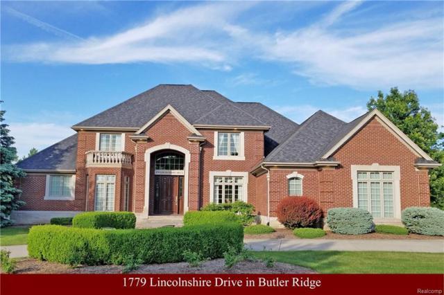 1779 Lincolnshire Drive, Rochester Hills, MI 48309 (#218020903) :: Duneske Real Estate Advisors