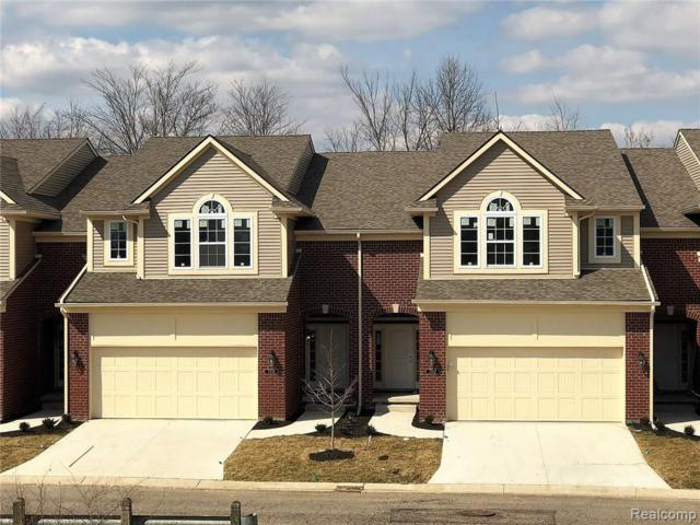 6586 Berry Creek Lane #45, West Bloomfield Twp, MI 48322 (#218087388) :: RE/MAX Classic