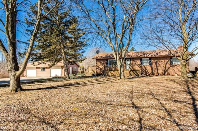5445 Burton Road, Mussey Twp, MI 48014 (#219006226) :: The Buckley Jolley Real Estate Team