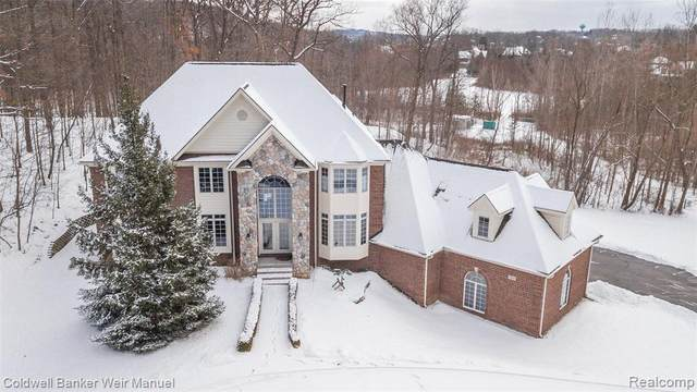 7553 Deerhill Drive, Independence Twp, MI 48346 (#219017325) :: The Mulvihill Group