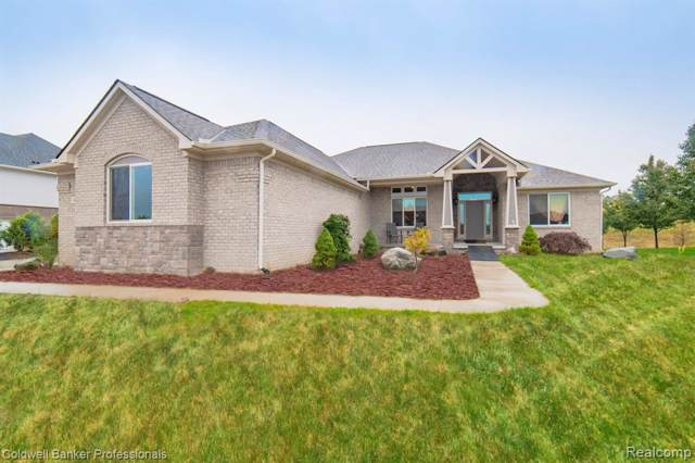 1435 Glass Lake Circle, Oxford Twp, MI 48371 (#219100759) :: The Alex Nugent Team | Real Estate One