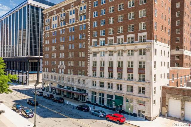 525 W Lafayette Boulevard 21B, Detroit, MI 48226 (#2200025551) :: The Alex Nugent Team | Real Estate One