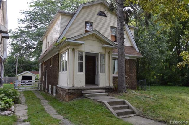 466 Chalmers Street, Detroit, MI 48215 (MLS #218103957) :: The Toth Team