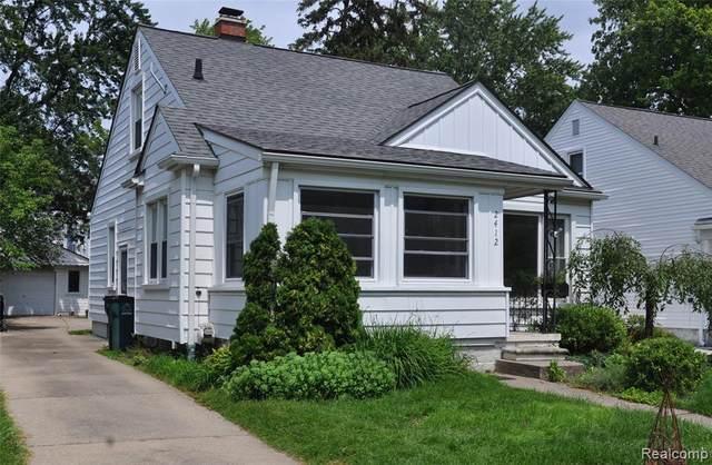2412 Edgewood Boulevard, Berkley, MI 48072 (#2210057798) :: The Vance Group | Keller Williams Domain