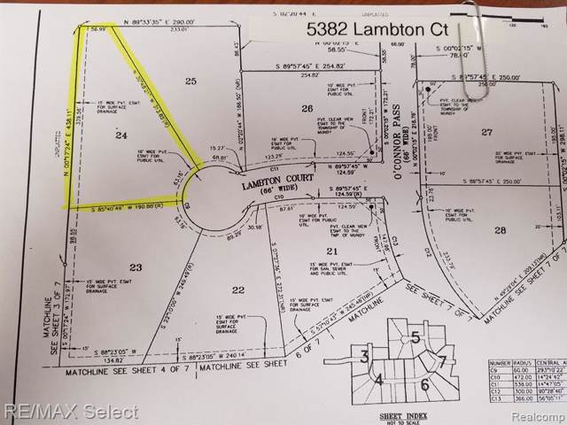 5382 Lambton Court, Mundy Twp, MI 48473 (MLS #219074034) :: The Toth Team