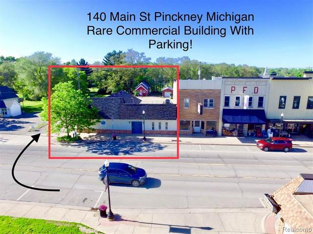 140 W Main Street, Pinckney Vlg, MI 48169 (MLS #219016674) :: The Toth Team