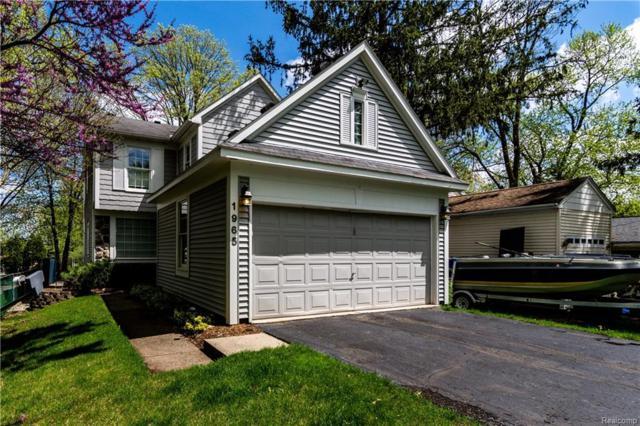 1965 Auburndale Avenue, West Bloomfield Twp, MI 48324 (#218056011) :: The Buckley Jolley Real Estate Team