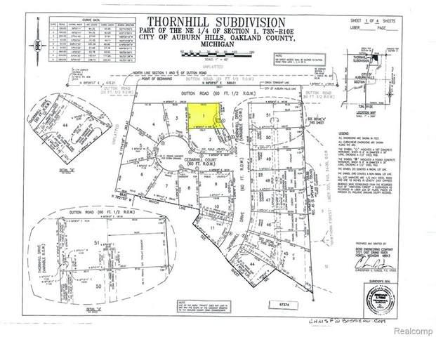 4497 Thornhill Drive, Auburn Hills, MI 48326 (MLS #219035308) :: The Toth Team
