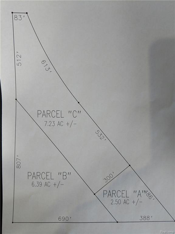 Parcel A State Road, Goodrich Vlg, MI 48438 (MLS #217108232) :: The Toth Team