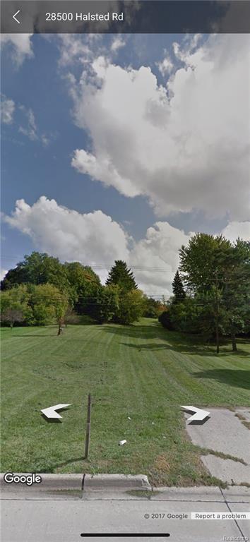 00000 Halsted - Parcel A, Farmington Hills, MI 48331 (#217108820) :: RE/MAX Classic