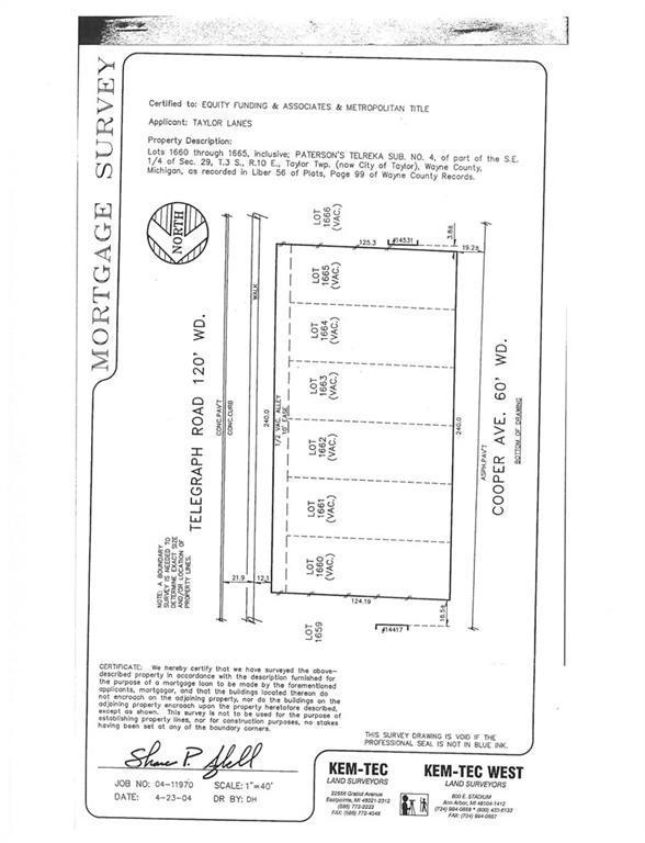 0000 Cooper Avenue, Taylor, MI 48180 (#216039950) :: The Buckley Jolley Real Estate Team