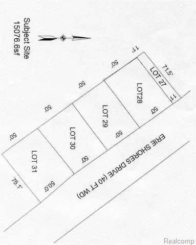 0 Erie Shores, Monroe, MI 48162 (#57003447518) :: Duneske Real Estate Advisors