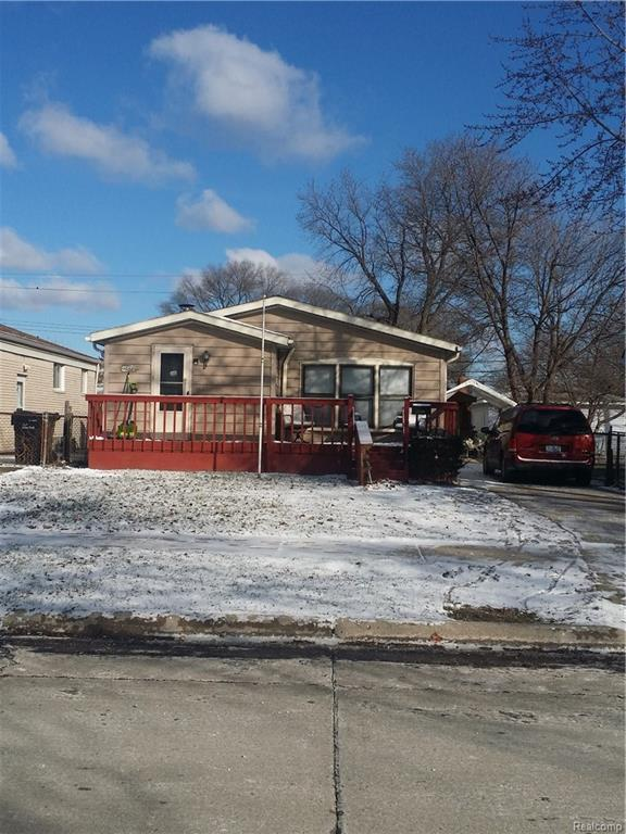 17236 Anne Avenue, Allen Park, MI 48101 (MLS #217104674) :: The Toth Team