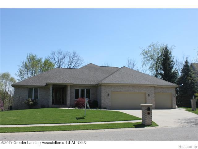 5552 Silverleaf Court, Meridian Charter Twp, MI 48840 (MLS #630000221407) :: The Toth Team