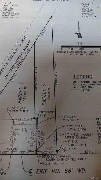 99999 E Erie Rd, Erie, MI 48133 (#57003451598) :: Duneske Real Estate Advisors