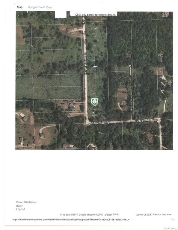 VL Hidden Lake Trail, Brandon Twp, MI 48462 (#218007283) :: RE/MAX Classic