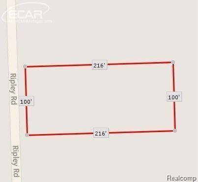 0 Ripley Road, Linden, MI 48451 (#218007433) :: Metro Detroit Realty Team | eXp Realty LLC