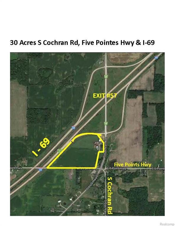 3882 S Cochran Road, Carmel Twp, MI 48813 (MLS #218007796) :: The Toth Team