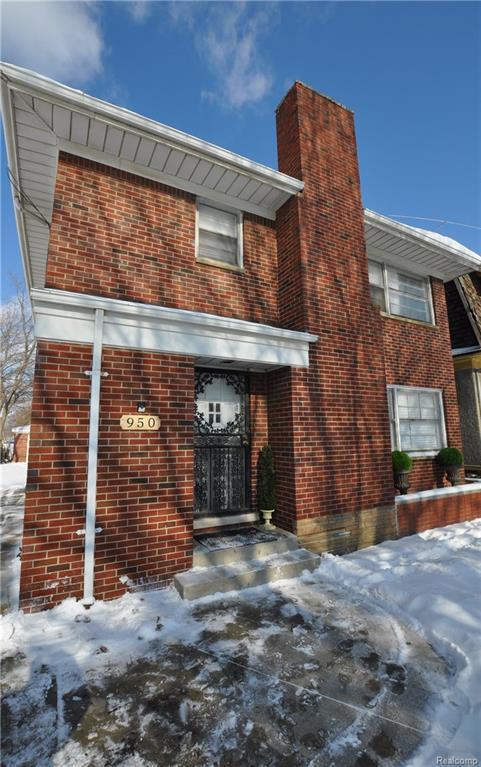 950 Longfellow Street, Detroit, MI 48202 (#218011058) :: Metro Detroit Realty Team | eXp Realty LLC