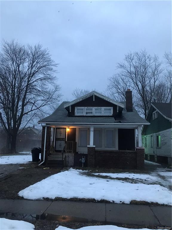 216 Marlborough Street, Detroit, MI 48215 (#218013424) :: RE/MAX Classic