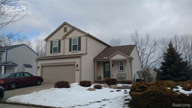 6469 Crestview Drive, Holly Twp, MI 48442 (#5030072250) :: RE/MAX Classic