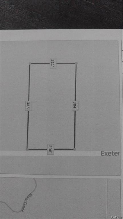 0 Exeter Road, Exeter Twp, MI 48117 (#218014824) :: Metro Detroit Realty Team | eXp Realty LLC