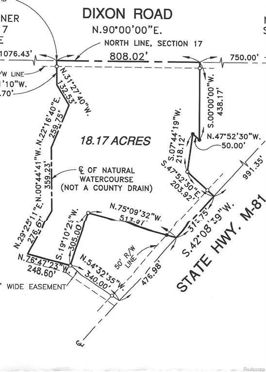 V/L W Caro Road, Indianfields Twp, MI 48723 (#218015704) :: RE/MAX Classic
