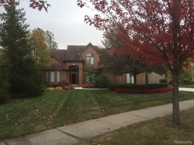 16843 Abby Circle, Northville Twp, MI 48168 (#218017033) :: Duneske Real Estate Advisors