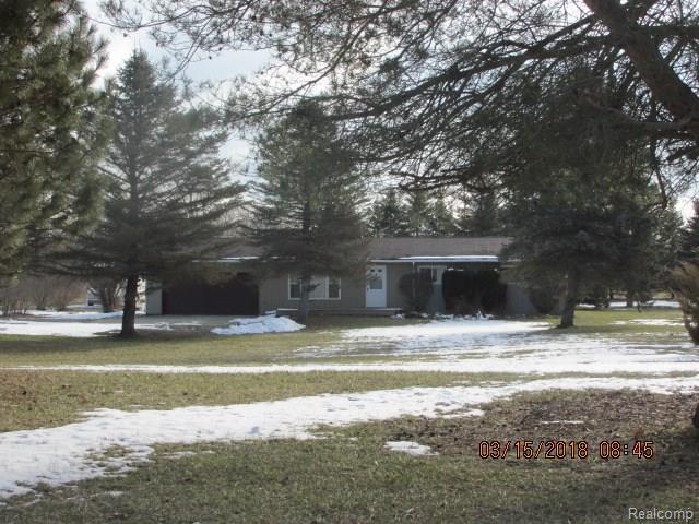 10104 White Road, Deerfield Twp, MI 48451 (#218021550) :: The Buckley Jolley Real Estate Team