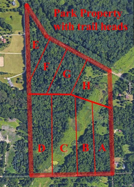 0000 Pontiac Lake Parcel G Road, White Lake Twp, MI 48329 (#218025436) :: Simon Thomas Homes