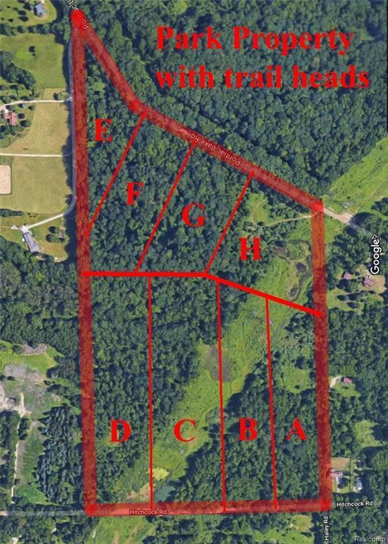 0000 Pontiac Lake Parcel H Road, White Lake Twp, MI 48329 (#218025453) :: Simon Thomas Homes