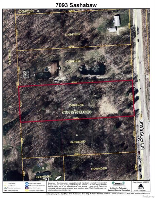 7093 Sashabaw Road, Independence Twp, MI 48348 (MLS #218027384) :: The Toth Team