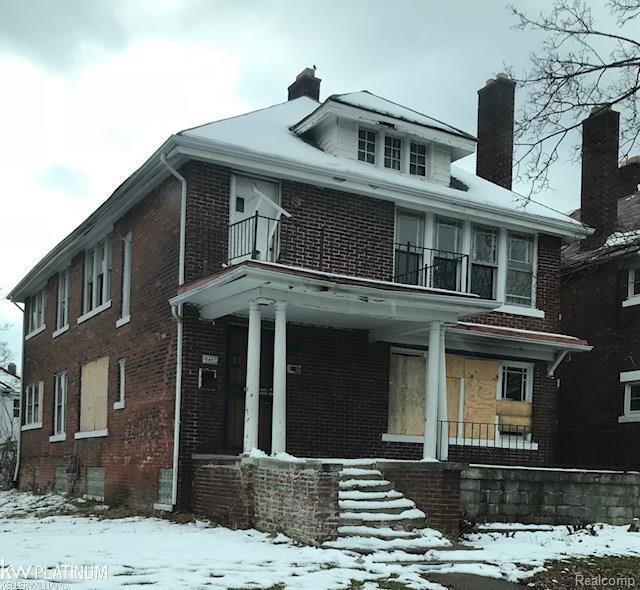 Taylor St, Detroit, MI 48206 (MLS #58031343859) :: The Toth Team