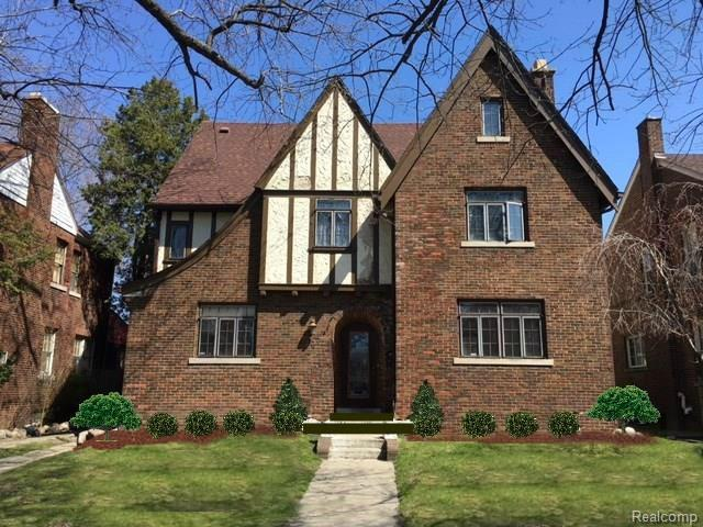 17314 Muirland Street, Detroit, MI 48221 (#218030621) :: The Buckley Jolley Real Estate Team