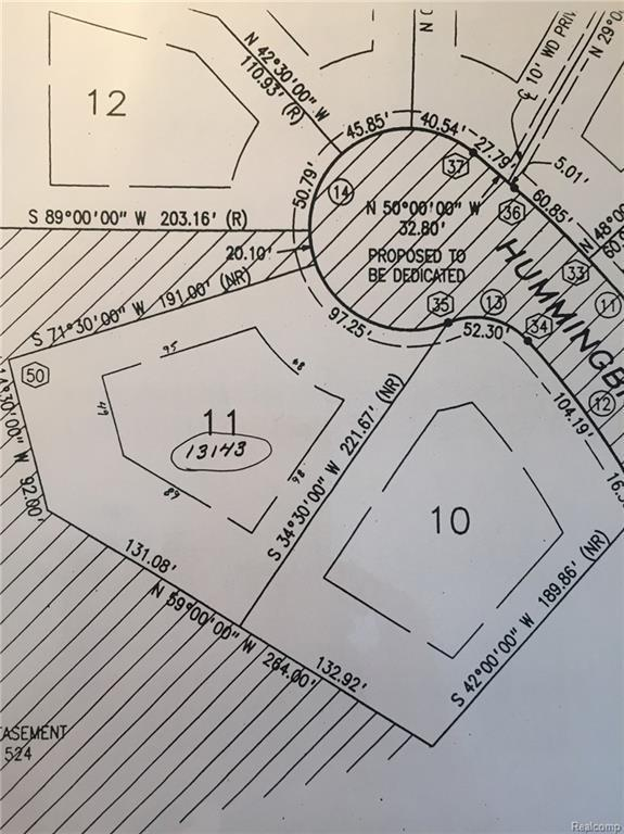 13143 Hummingbird Ridge Lot 11 Ridge, Springfield Twp, MI 48350 (#218035646) :: RE/MAX Classic