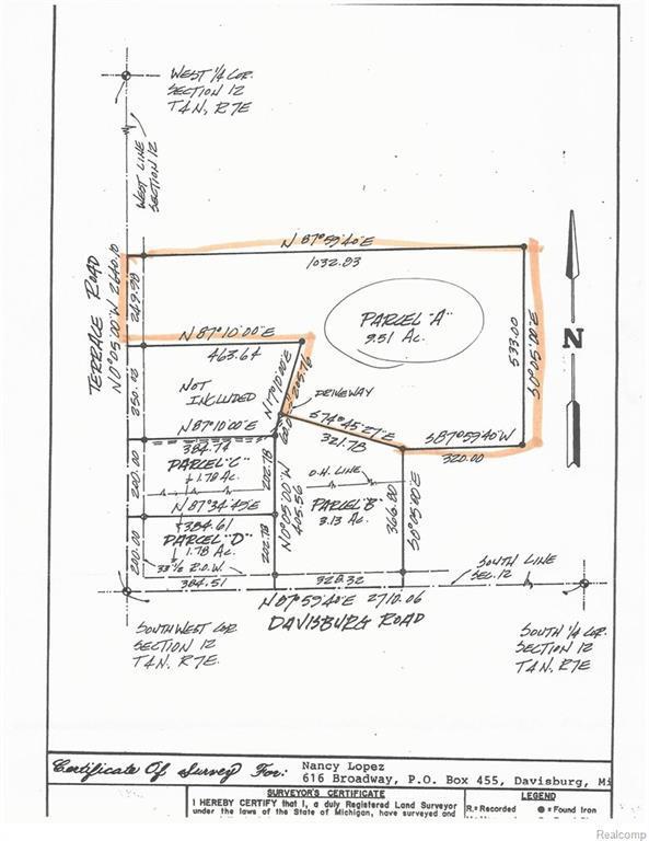 Vac Terrace Road, Rose Twp, MI 48442 (#218036885) :: RE/MAX Classic
