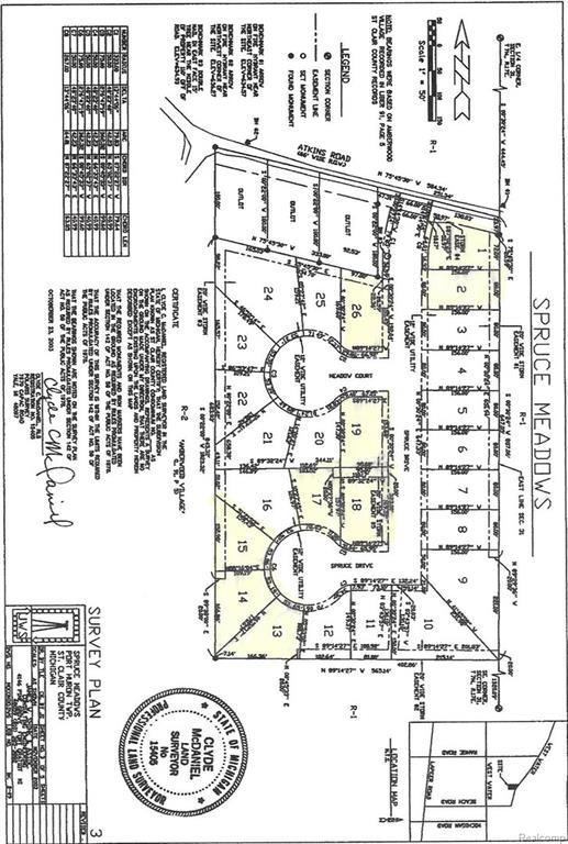 3118 Spruce Drive, Port Huron Twp, MI 48060 (#218037706) :: RE/MAX Classic