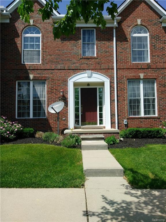 41706 Brownstone #43, Novi, MI 48377 (#218048554) :: RE/MAX Classic