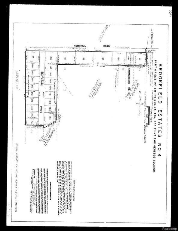 0 Hemphill, Flint Twp, MI 48507 (#50100002847) :: The Buckley Jolley Real Estate Team