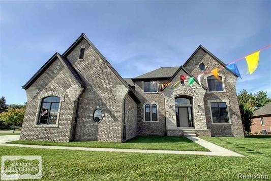 54491 Preston Pines Lane Lot #65, Shelby Twp, MI 48315 (#58031352606) :: Duneske Real Estate Advisors