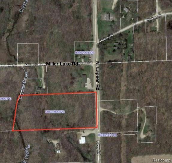 0000 N Lapeer Road, Columbiaville Vlg, MI 48421 (#218071401) :: The Buckley Jolley Real Estate Team