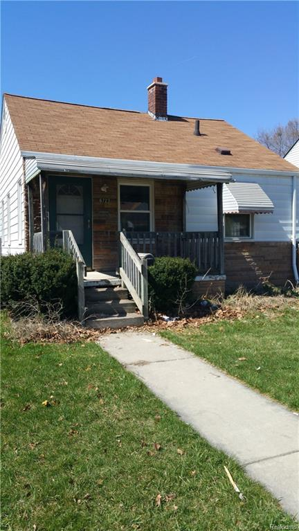6723 Mettetal Street, Detroit, MI 48228 (MLS #218086754) :: The Toth Team
