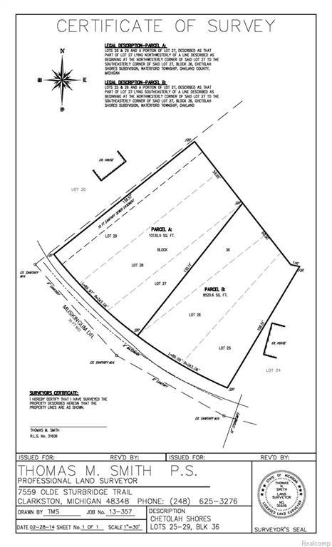 00000 Muskingum, Waterford Twp, MI 48329 (#218087877) :: Duneske Real Estate Advisors