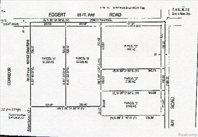 0 Eggert Parcel B, Dundee Twp, MI 48131 (MLS #57020343395) :: The Toth Team