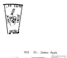 995 Saint James Park Ave, Monroe Twp, MI 48161 (MLS #57020433607) :: The Toth Team