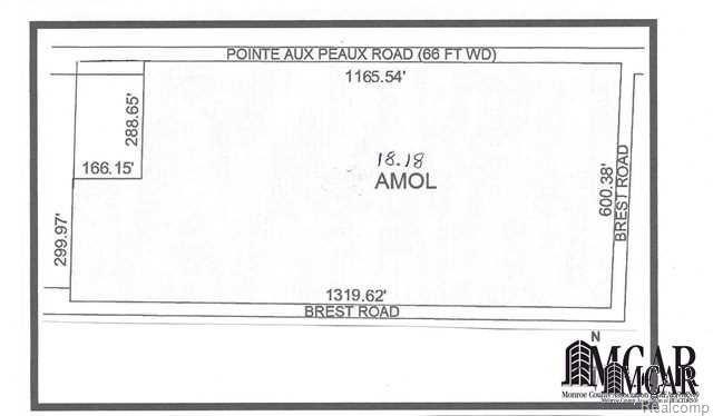 0 Pointe Aux Peaux, Frenchtown Twp, MI 48166 (#57021432314) :: Duneske Real Estate Advisors